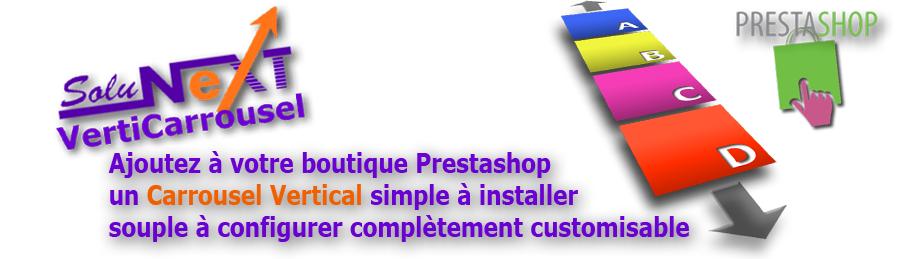 (Français) Module Carrousel Vertical pour PrestaShop